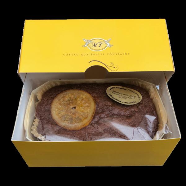 Gâteau aux épices de la Maison Toussaint à déguster sans modération