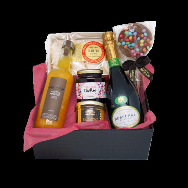 Box célébration pour les moments festifs livrée chez vous gratuitement