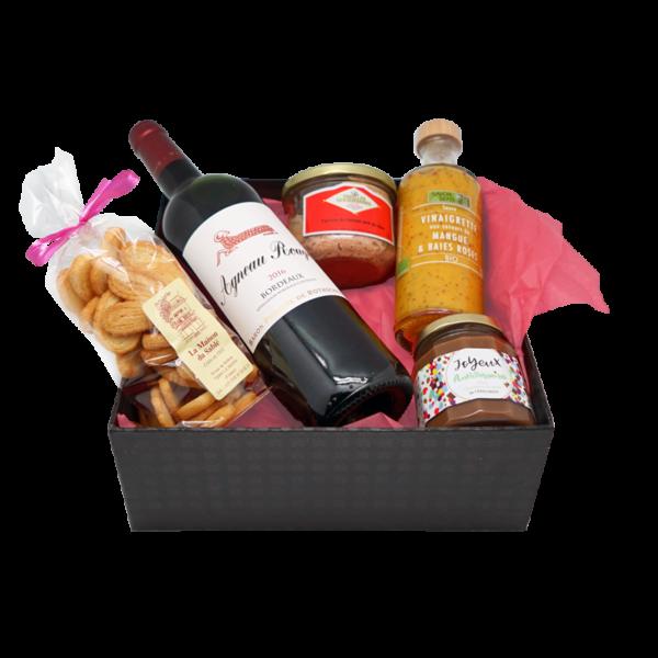 Box gourmande livrée chez vous gratuitement au Mans, en Sarthe et dans toute la France