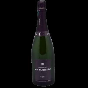Bouteille de champagne à petit prix B.Martin brut livré chez vous par Maison Reignier Le Mans