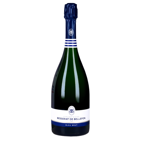 Champagne brut Besserat vendu chez Reignier au Mans 72