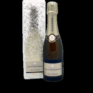 Demi-bouteille de champagne Louis Roderer brut livré chez vous par Maison Reignier Le Mans